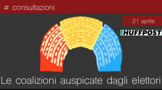 La coalizione auspicata dagli italiani